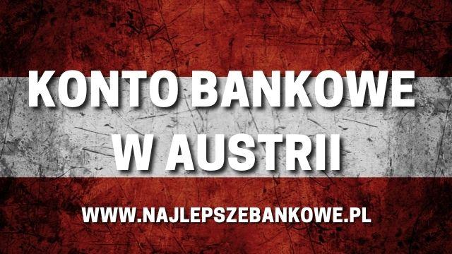 konto bankowe w banku w austrii
